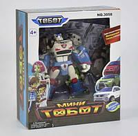 """Трансформер Мини-тобот, робот-машина, 3 машины интегрируются в робота, в коробке, """"Тобот"""""""