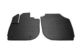 Коврики в салон резиновые передние для  HONDA Fit  2013-2020 Stingray (2шт)