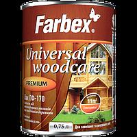 Лак ПФ-170 Farbex Universal Woodcare 0.75л