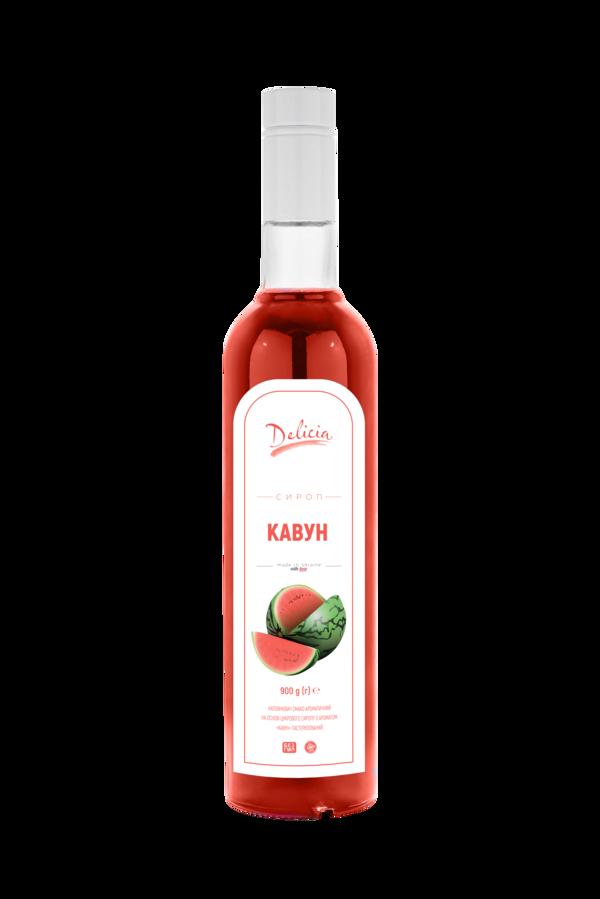Сироп Кавун Delicia 900 г