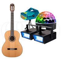 Музыкальные инструменты и оборудование