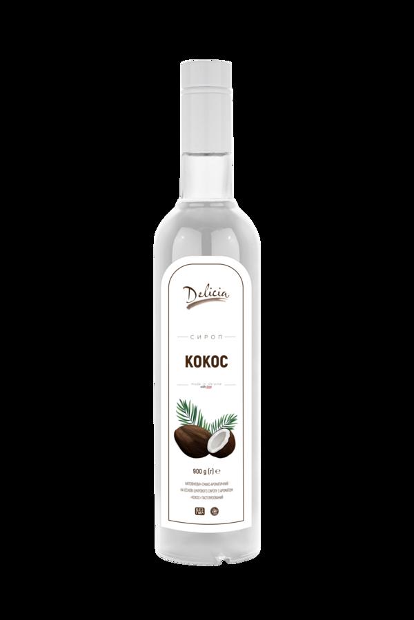 Сироп Кокос Delicia 900 г