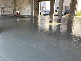 Устройство бетонного основания для полимерного покрытия на СТО  3