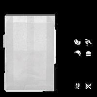 Бумажный Пакет Белый 220х140х50мм (ВхШхГ) 40г/м² 100шт (243) , фото 1
