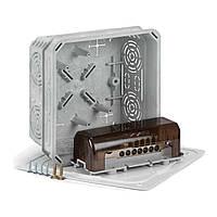 KO 125 E/EQ02_KA Коробка з кришкою V 125/1 і еквіпотенціальна термінальна плата, фото 1