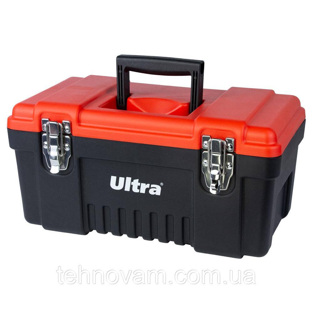 Ящик для инструмента металлические замки 405×210×200мм ULTRA (7402212)