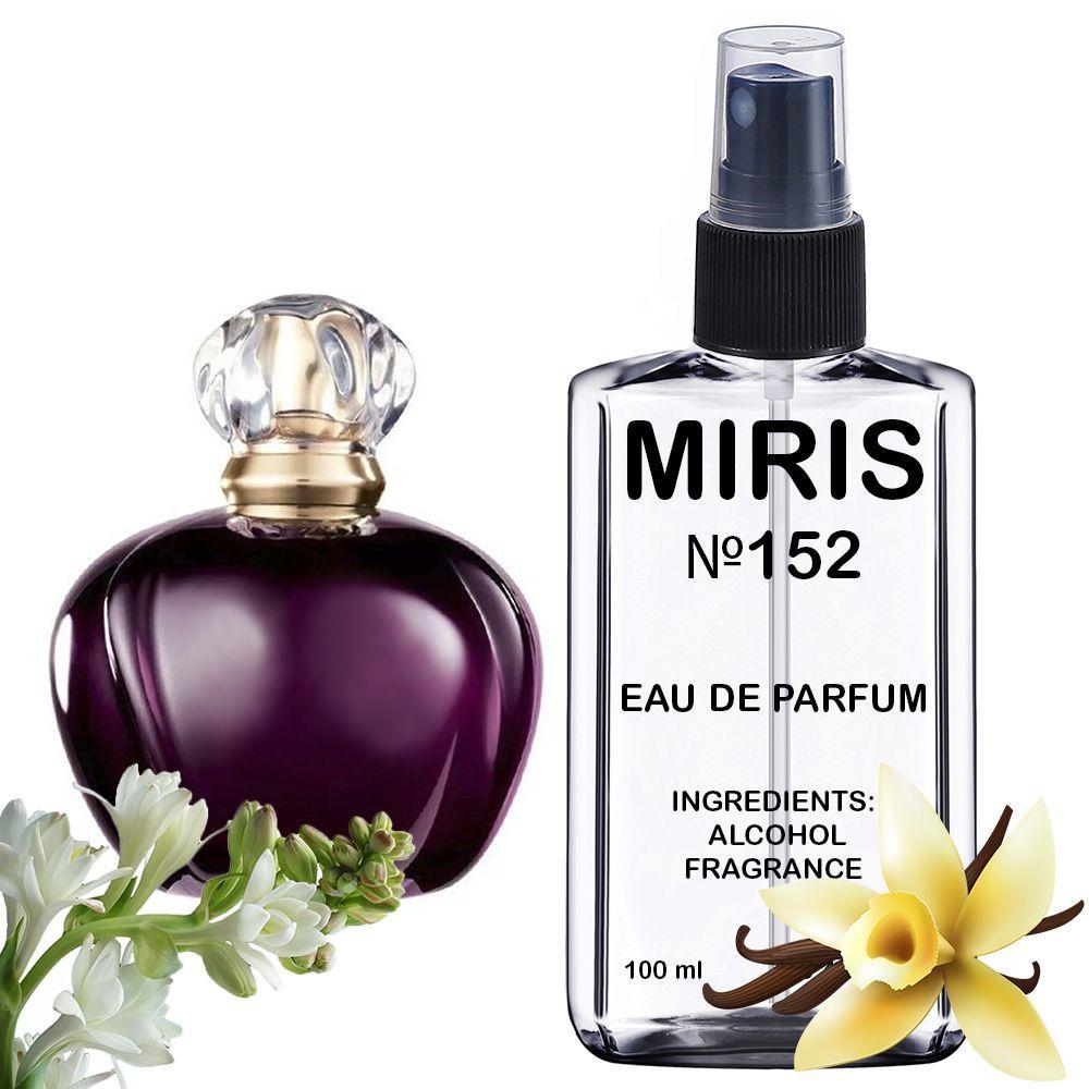 Духи MIRIS №152 (аромат схожий на Christian Dior Poison) Жіночі 100 ml