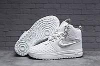 Зимние женские кроссовки 31465 ► Nike Air AF1 (мех), белые . [Размеры в наличии: 38,40,41], фото 1
