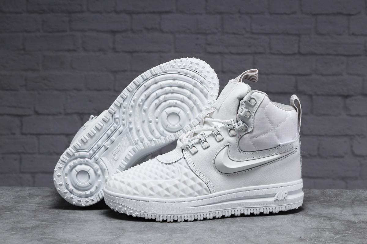 Зимние женские кроссовки 31465 ► Nike Air AF1 (мех), белые . [Размеры в наличии: 38,40,41]