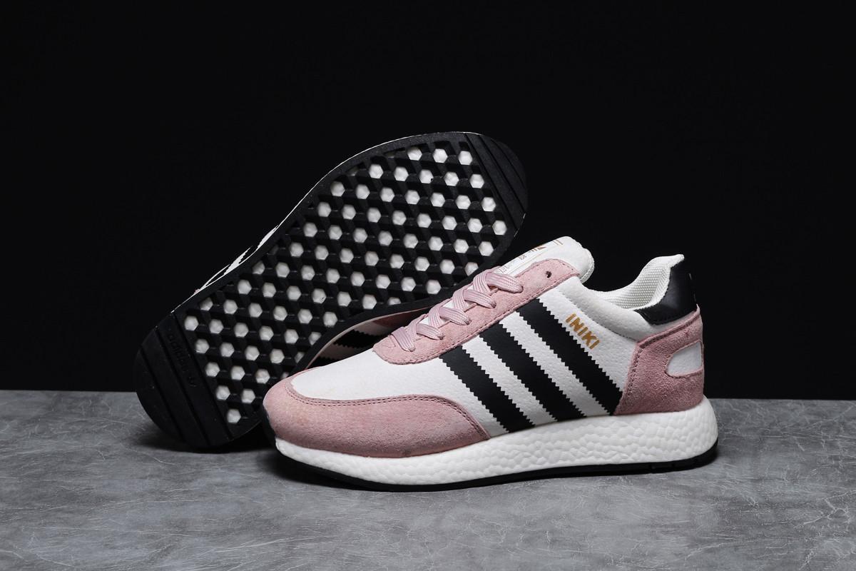 Зимние женские кроссовки 31651 ► Adidas Iniki, розовые . [Размеры в наличии: 36,38,39,41]