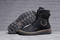 Зимние мужские ботинки 31491 ► Diesel Modern (мех), черные . [Размеры в наличии: ], фото 1