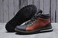 Зимние мужские ботинки 31681 ► Levi's (мех), коричневые . [Размеры в наличии: ], фото 1