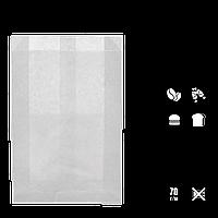 Паперовий пакет цілісний білий жиростійкий 310х200х50 мм (1922), фото 1