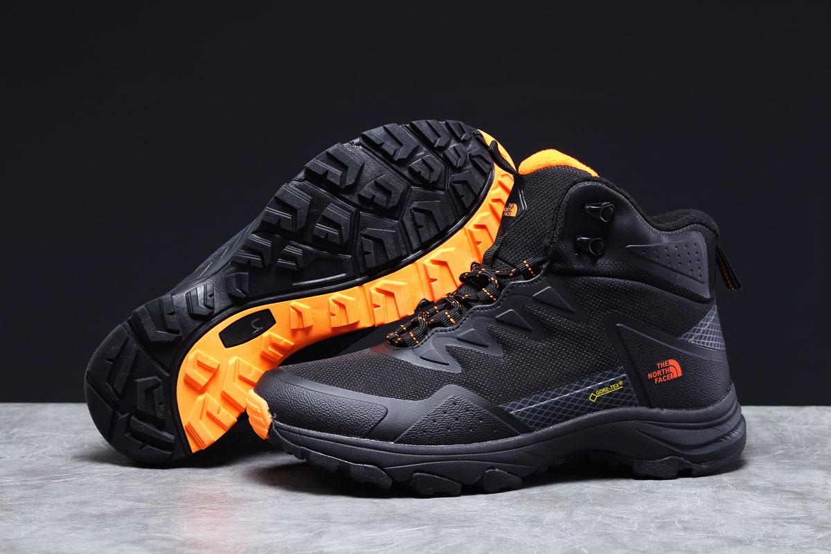Зимние мужские кроссовки 31332 ► The North Face Gore-Tex, черные . [Размеры в наличии: ]