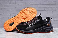 Зимние мужские кроссовки 31402 ► Puma Hybrid (мех), черные . [Размеры в наличии: ], фото 1