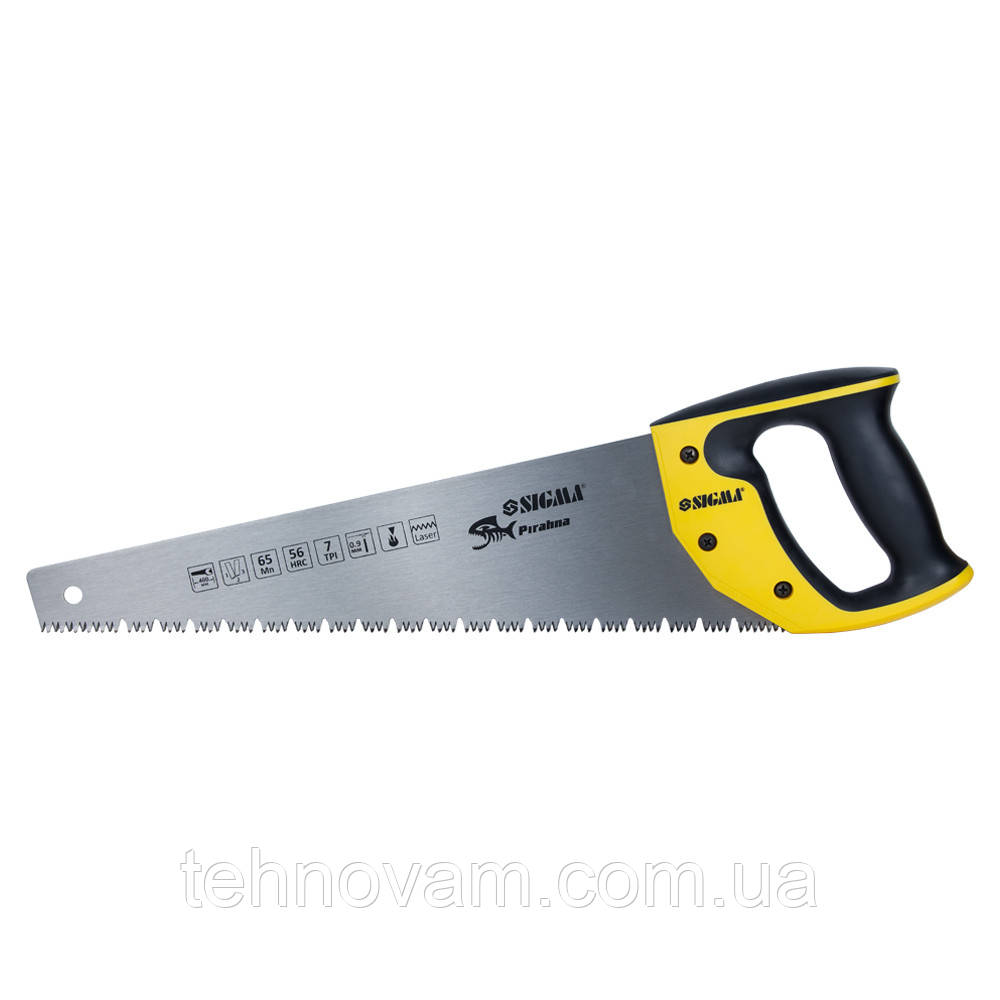Ножовка по мокрому дереву 400мм 7TPI Piranha SIGMA (4400741)