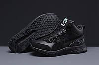 Зимние мужские кроссовки 31531 ► Puma (мех), черные . [Размеры в наличии: 42,43,44], фото 1