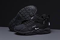 Зимние мужские кроссовки 31542 ► Nike Arcnm (мех), черные . [Размеры в наличии: 41,44,46], фото 1