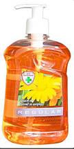 Жидкое мыло с дозатором антибактериальное Regular JEE Календула, Комби 525 мл