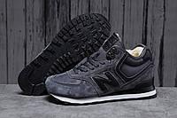 Зимние мужские кроссовки 31632 ► New Balance  574, темно-серые . [Размеры в наличии: ], фото 1
