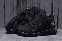 Зимние мужские кроссовки 31641 ► Nike Zm Air, черные . [Размеры в наличии: 41,42,43,44,45,46], фото 1