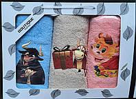 Подарочный набор полотенец Коровки
