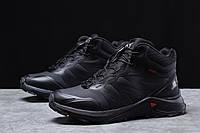 Зимние мужские кроссовки 31761 ► Solomon SuperCross, черные . [Размеры в наличии: 41,42,43,44,45], фото 1