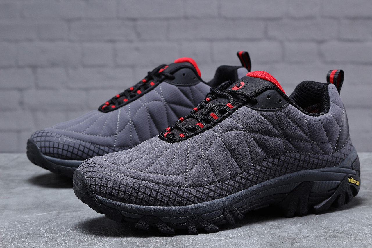 Зимние мужские кроссовки 31801 ► Merrell Vibram, серые . [Размеры в наличии: ]
