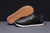 Кроссовки мужские 18021 ► Puma Roma, черные . [Размеры в наличии: 43,44,45], фото 1