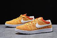 Кроссовки мужские 18082 ► Nike Tennis Classic Ultra Flyknit, оранжевые . [Размеры в наличии: 41,42,43,44,45], фото 1