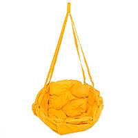 Кресло-гамак 100 кг 80 см Желтое