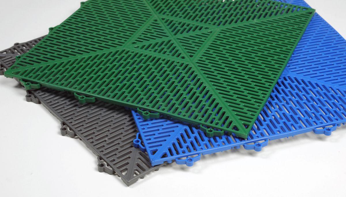 Модульное пластиковое покрытие