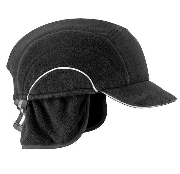 Защитная утепленная каскетка JSP abw000-001 Черный