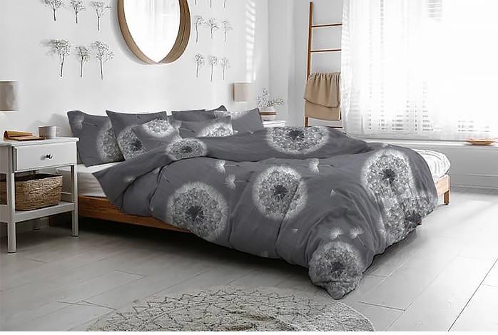 """Ткань фланель для постельного белья """"Одуванчики"""""""
