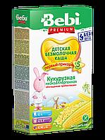 Каша безмолочная кукурузная низкоаллергенная с пребиотиками Bebi Premium, 200 г