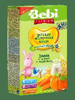 Каша молочная злаки с тыквой и морковью Bebi Premium, 200 г