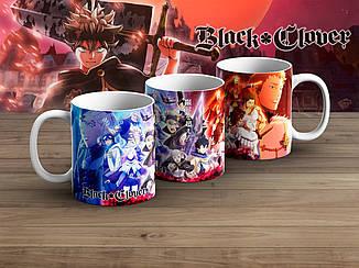 """Чашка Черный клевер """"Ice & Warm""""/ Black Clover"""