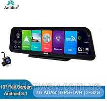 Панель с видеорегистратор Pioneer Anfilite DVR 1081 экран 10 дюймов Android 8.1 память 2/32Гб CPA