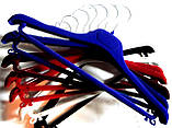 Вешалки-плечики флокированные, фото 5