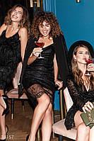 Женское вечернее платье из кружева, фото 1
