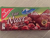 Edel Nuss-200г.Молочный с цельным орехом (Гермнаия)