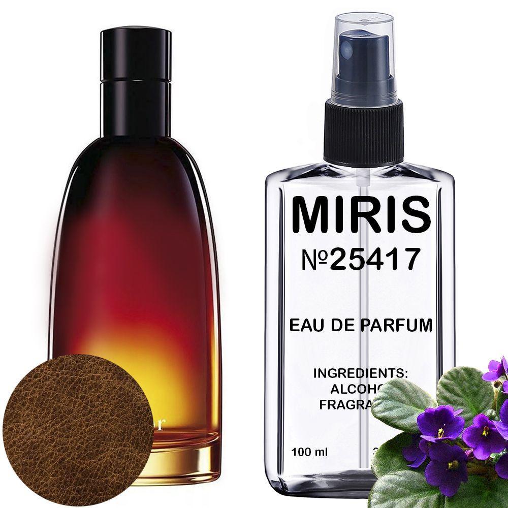 Духи MIRIS №25417 (аромат похож на Christian Dior Fahrenheit) Мужские 100 ml