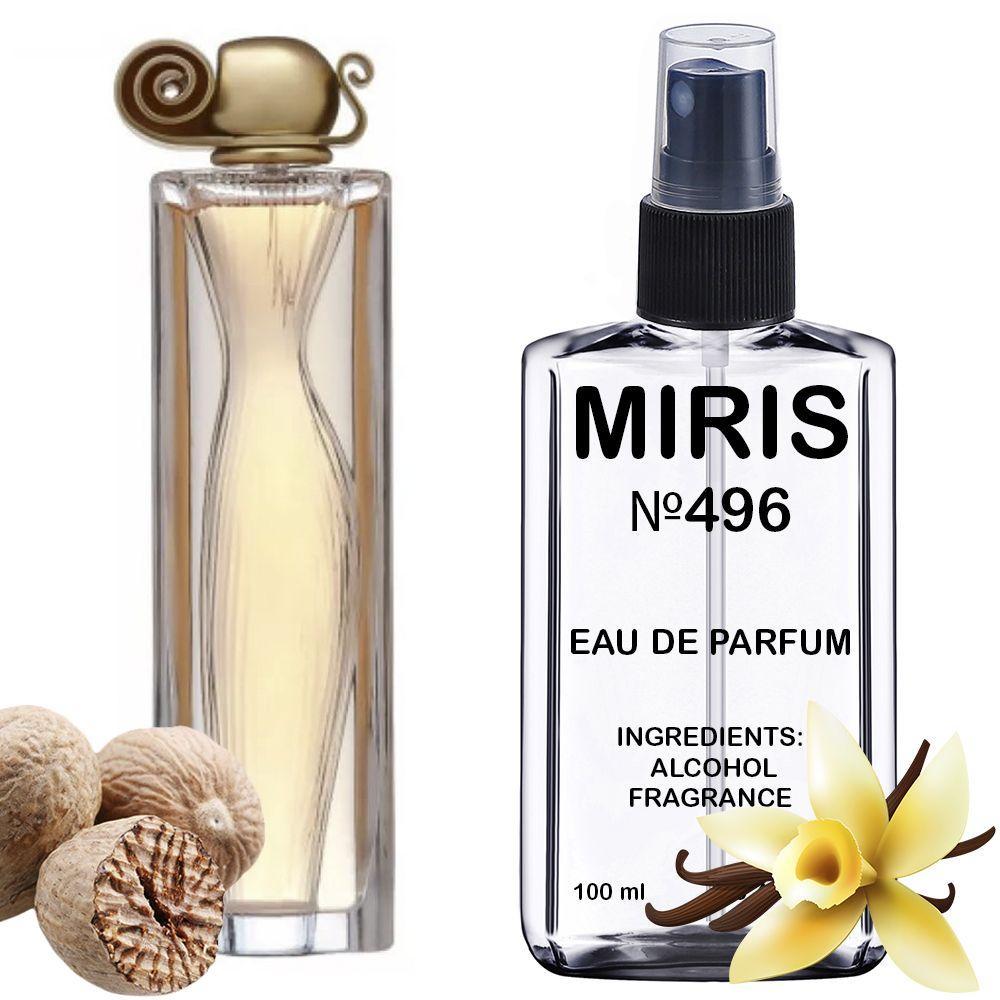 Духи MIRIS №496 (аромат похож на Givenchy Organza) Женские 100 ml