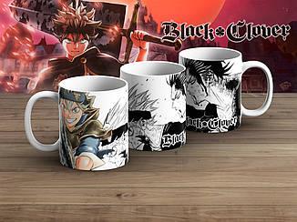 """Чашка Черный клевер """"Anger""""/ Black Clover"""
