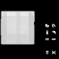 Пакет бумажный, жиростойкий, белый 140*120*50   100шт (1785), фото 1