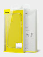 Чехол силиконовый Baseus для iPhone 12 mini прозрачный