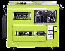 Дизельный генератор Könner&Söhnen KSB 6000DES ATSR (5,5 кВт, ел. запуск, АВР, тихий)