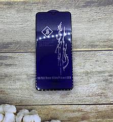 Защитное стекло Honor 20i PREMIUM 5D 9D Full Glue полное покрытие/ полный клей (черная рамка)