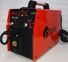 Зварювальний напівавтомат EDON SmartMIG-290 (2 в 1 MIG + MMA) + маска-хамелеон в подарунок