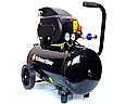 Компрессор воздушный Schwarzbau FL29-50 ресивер 50 литров +масло, фото 2